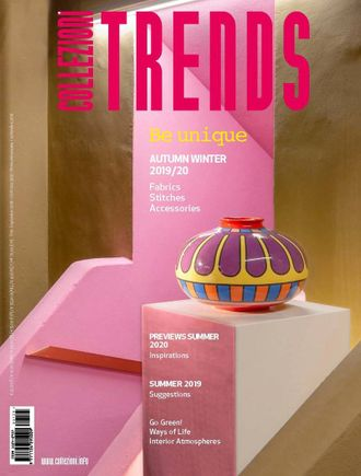 COLLEZIONI TRENDS Magazine № 125 Autumn-Winter 2020 Иностранные журналы о моде, Inpressshop