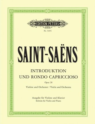 Saint-Saens, Introduction and Rondo capriccioso Op.28