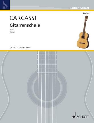Carcassi Complete Guitar Method Teil 2