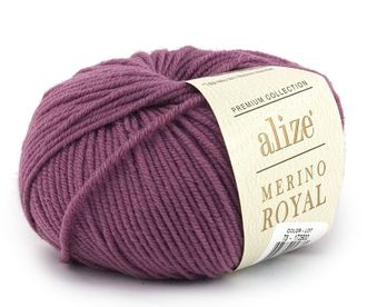 Alize Merino Royal 73 лиловый