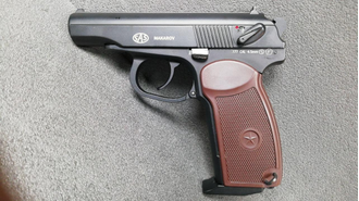 Описание пистолета SAS PM BLOWBACK https://namushke.com.ua/products/sas-pm-makarov-blowback
