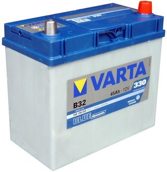 АКБ 6СТ-45 VARTA Blue Dynamic Asia 545156033 стд.кл. о.п.