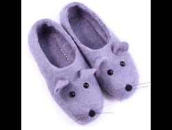 Войлочные тапочки Мышки