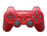 PS 3 Controller Wireless Dual Shock Red