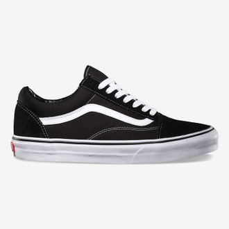 Кеды Vans Old Skool черно-белые