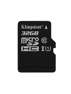 Карта памяти Kingston 32GB Micro SDHC Class 10