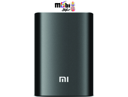Power Bank Xiaomi 10400 mAh черный металл