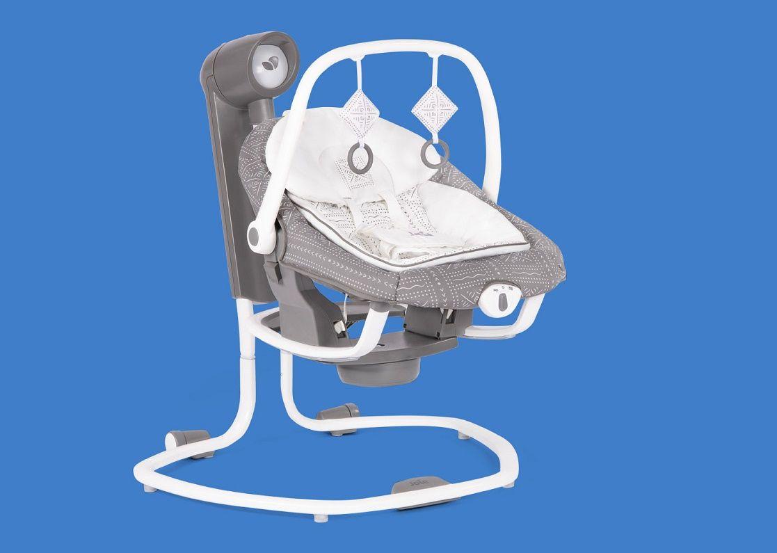 Супер многофункциональные электрические качели для малыша Joie Serina 2 в 1