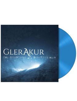 GlerAkur - The Mountains Are Beautiful Now LP Blue