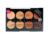 Палетка  кремовая  для контуринга TECHNIC COLOYR FIX N°2 CONTOUR KIT CREME FOND DE TEINT  8 оттенков  Х 8,5мл