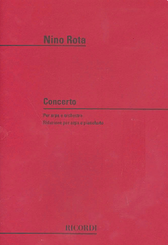 Rota Concerto for Harp and Orchestra  - Piano version