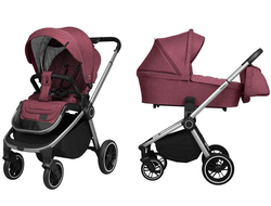 Коляска 2в1 Baby Tilly T T-182 Sigma Tryan Purple