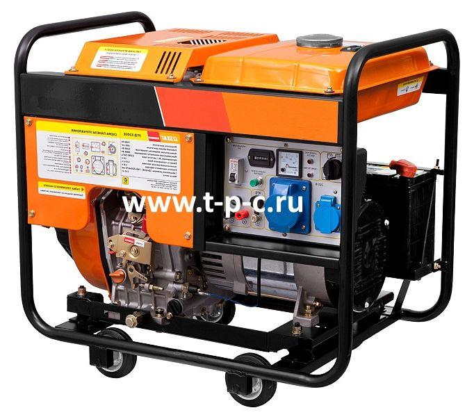 Дизельный генератор Скат УГД-5300Е (Мощностью 5,3 кВт)