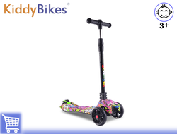 САМОКАТ SCOOTER COLOR (РОЗОВЫЙ) Kiddy-bikes