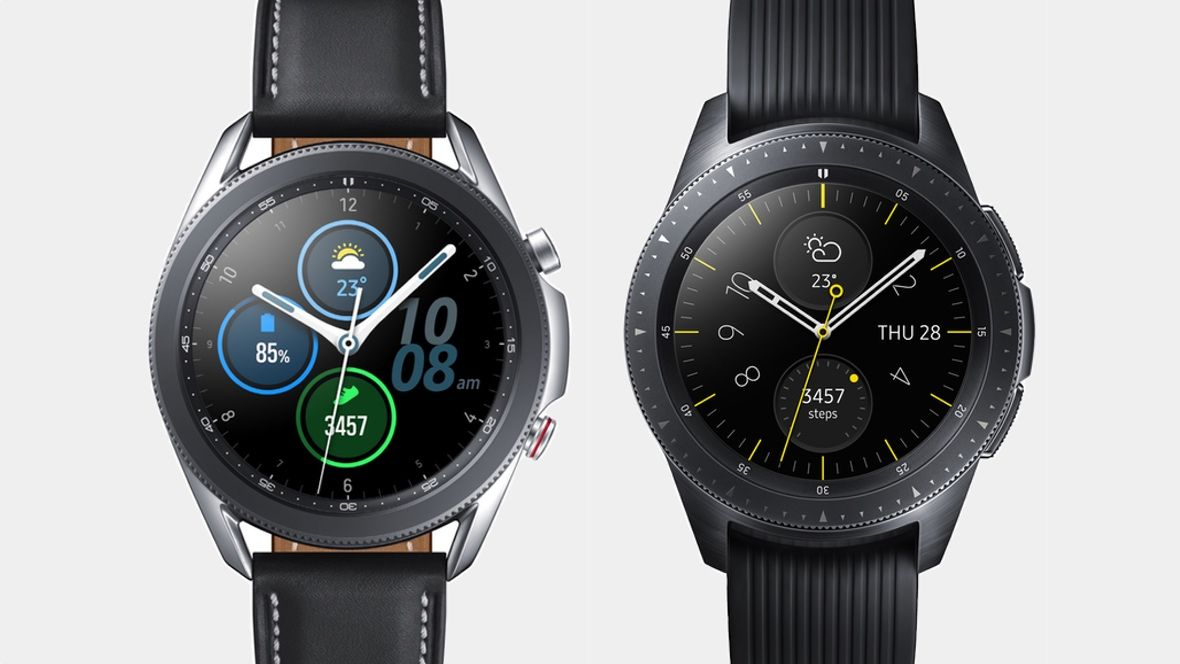 Samsung Galaxy Watch 3 и Galaxy Watch: в чем разница?