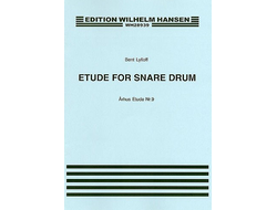 Lylloff, Bent Etude for snare drum