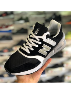 NEW BALANCE 997S BLACK WHITE МУЖСКИЕ