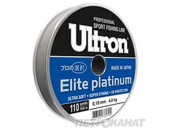 Леска  Ultron  Elite platinum -30