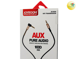 AUX 3.5mm JOYROOM JR-S600 1.0m Black