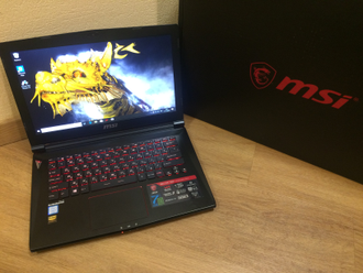 MSI GS43VR 7RE-202XRU PHANTOM PRO ( 14.0 FHD IPS i5-7300H GTX1060(6Gb) 10Gb 1Tb + 240SSD )