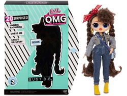 MGA Entertainment Кукла L.O.L. Surprise OMG Series 2 - Busy B.B. Fashion Doll с 20 сюрпризами, 565116
