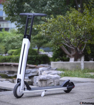 Электросамокат NINEBOT Electric Scooter Air T15 (белый) EU