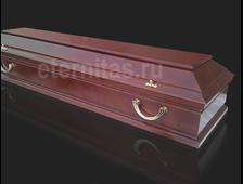 Гроб деревянный лакированный Рим