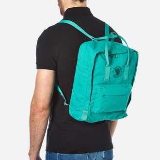 Рюкзак Fjallraven Kanken Emerald (Re-Kanken) мятный