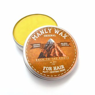 Воск для волос MANLY WAX, Original 50 ml