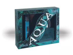 Aqua Black gift set for men