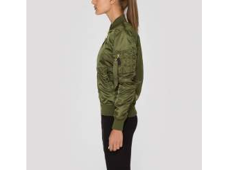 Куртка Alpha Industries Women Flight Jacket MA-1 VF Dark Green