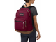 Jansport Right Pack Russet Red на девушке
