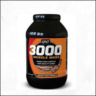 Гейнер QNT Muscle Mass 3000 4500g