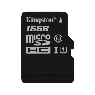 Карта памяти Kingston 16GB Micro SDHC Class 10
