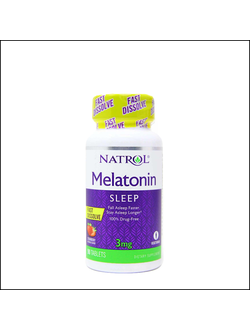 Мелатонин Natrol Melatonin 3mg 90 chaw