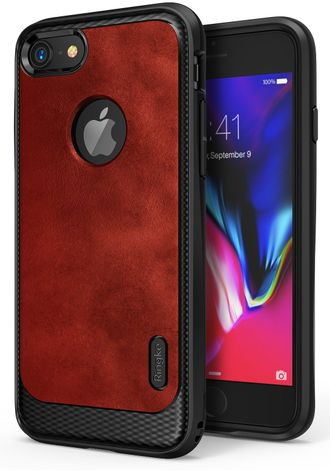 Чехол на Apple iPhone 7, Ringke серия Flex S, цвет красный (Blaze Red)