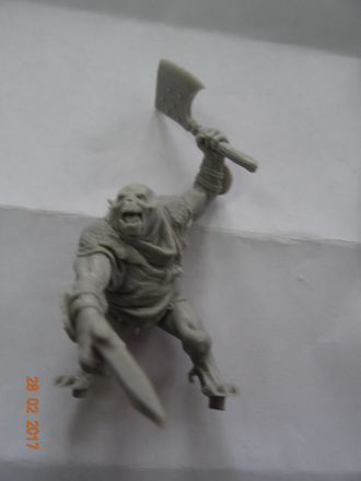 Torleik, Two Axe Troll Warrior