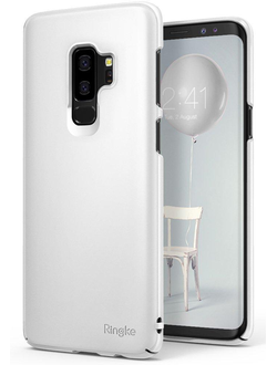 Чехол для Samsung Galaxy S9+ Plus от Ringke серия Slim цвет белый (White)