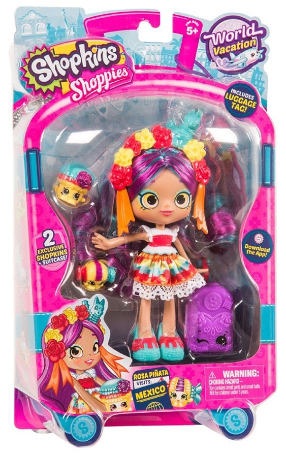 Кукла Шопкинс Шоппиес - Путешествие в Мексику - Роза Пината / Shopkins Shoppies - World Vacation Vis
