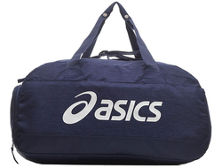 Купить Сумка Asics  SPORTS BAG BLUE M 3033A410-400 в синем цвете асикс  для тренировок фото