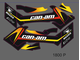 G2 BRP can-am 400 650 800 outlander  MAX #