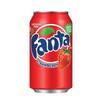 Газировка Fanta Strawberry (клубника)