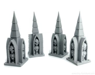 Column spires v.2 (PAINTED)