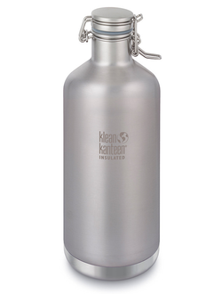 Термобутылка Klean Kanteen Growler 64oz (1900 мл) Brushed Stainless
