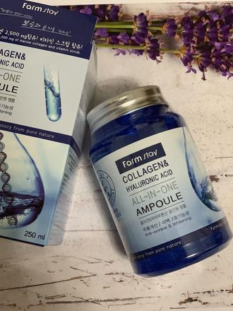 Farm Stay All In One Collagen and Hyaluronic Ampoule 250 ml