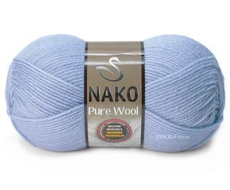 Nako Pure Wool 271 голубой