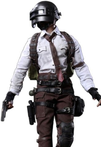 "PlayerUnknown's Battlegrounds ""PUBG"" - Коллекционная фигурка ПАБГ (ПУБГ) 1/6 Scale Doomsday Survivor (FS-73012) - FLAGSET"
