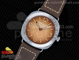 PAM687 Acciaio Brevettato SF Best Edition Brown Dial