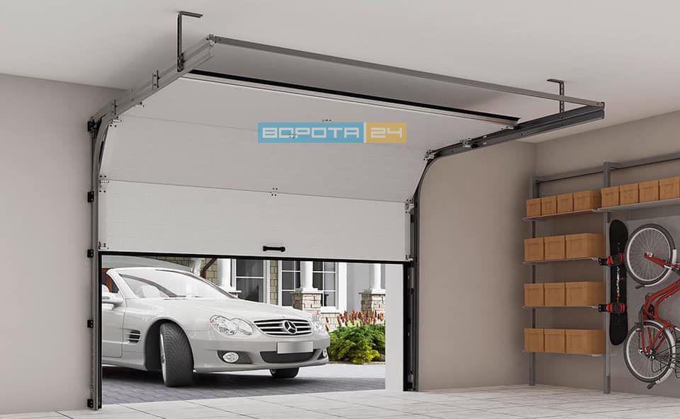 автоматика из Италии для гаражных ворот - установка привода - гарантия