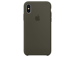 Чехол-накладка Apple Silicone Case iPhone  Gray